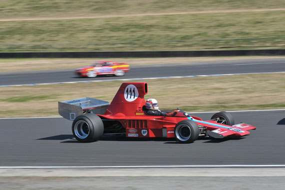 Warwick Brown in Stan Redmonds Lola T333 CS