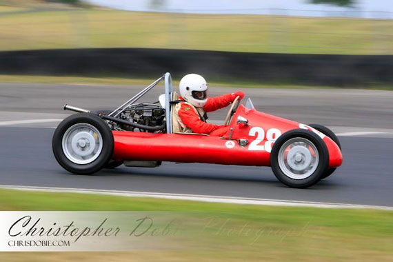 Historic Racing at the Tasman Revival by Christopher Dobie