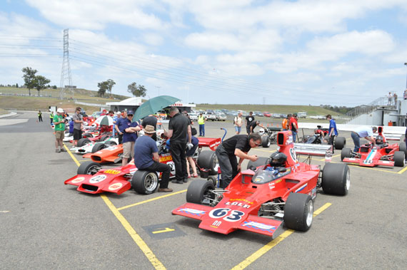 Historic Racing at the Tasman Revival by Roderick Mackenzie